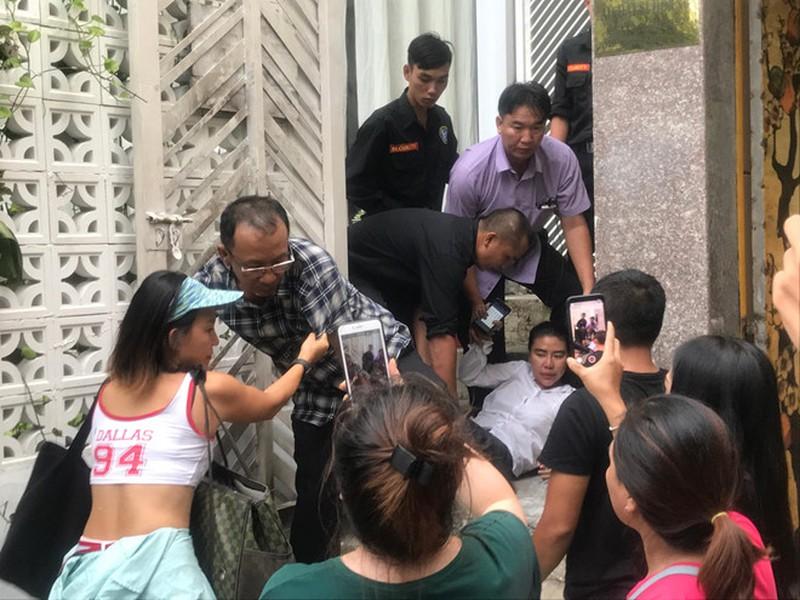 Cuộc giằng co diễn ra tại căn nhà số 29 Nguyễn Bỉnh Khiêm,phường Đa Kao, quận 1.