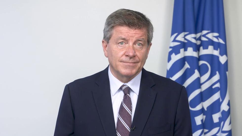 Tổng giám đốc ILO Guy Ryder. Ảnh: ILO