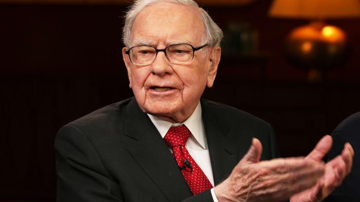 Tỷ phú Warren Buffett - Chủ tịch kiêm CEO của Berkshire Hathaway. Ảnh: CNBC