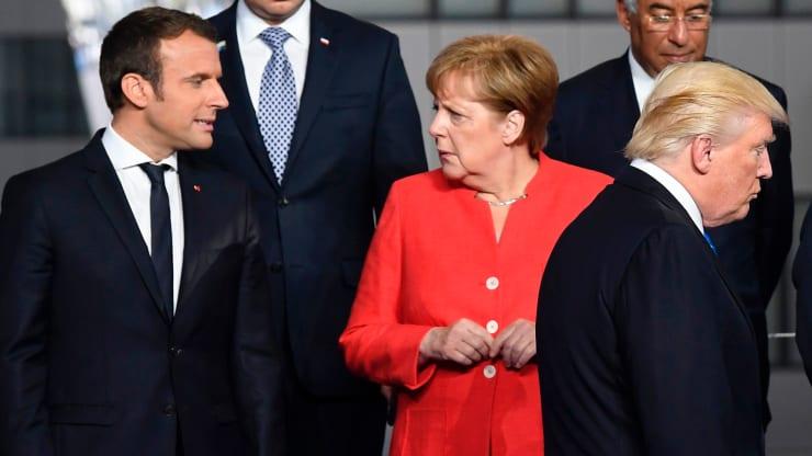 Mỹ đang xem xét áp thuế lên những sản phẩm nhập từ Pháp, Đức, Tây Ban Nha, Anh. Ảnh:CNBC