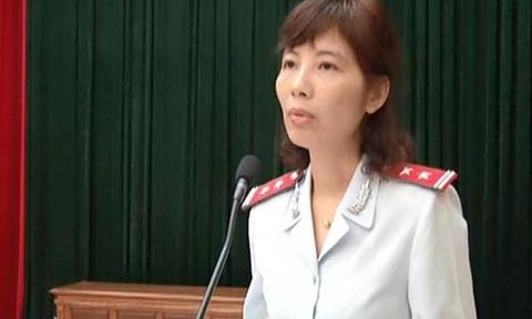 Nguyễn Thị Kim Anh (cựu Phó Trưởng phòng Phòng chống tham nhũng thanh tra Bộ Xây dựng).