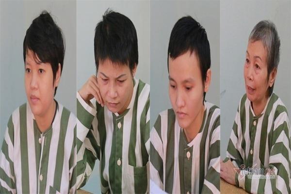 Các bị cáo trong vụ án. Ảnh: Vietnamnet