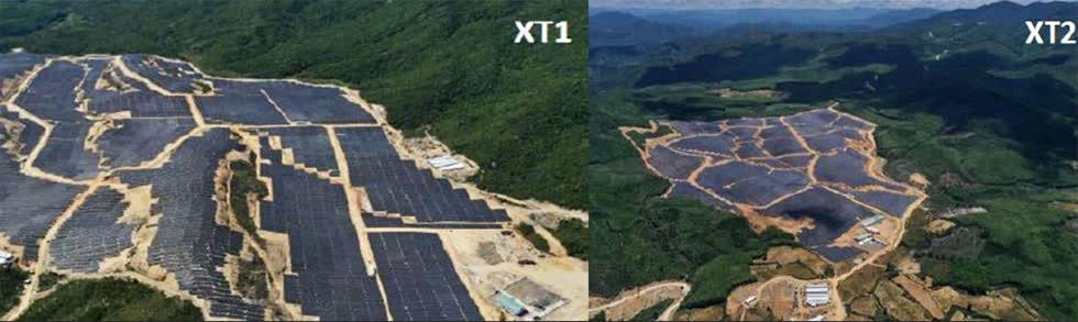 Trang trại năng lượng mặt trời của BGC tại Việt Nam hiện có công suất 67 megawatt. Ảnh:Bangkok Post.