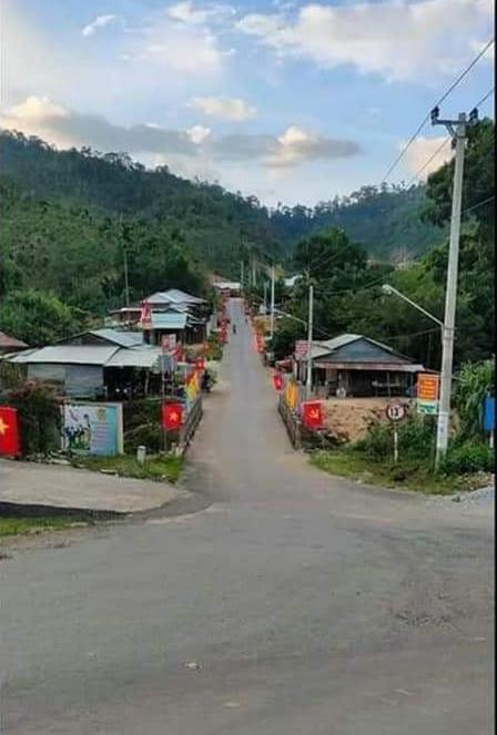 Hình ảnh thôn 1, xã Trà Leng huyện Nam Trà My, tỉnh Quảng Nam trước khi xảy ra thảm họa. Ảnh: T.X