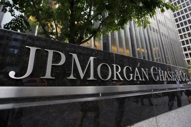 Ngân hàng JP Morgan Chase là  Ngân hàng lớn nhất nước Mỹ  tính đến thời điểm hiện tại.Nguồn: Wall Street Journal