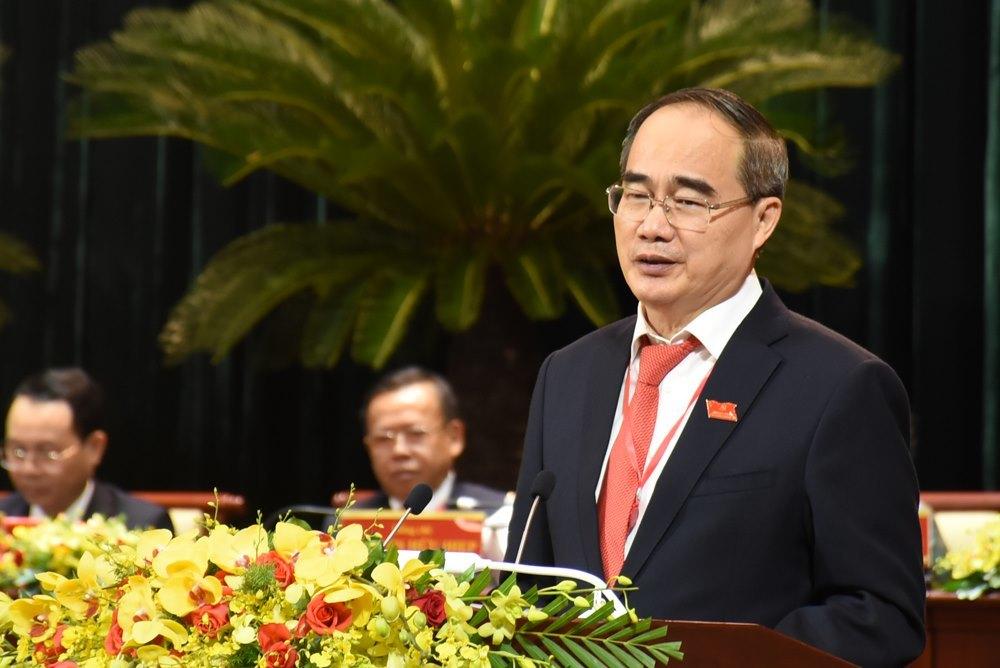Theo Bí thư Thành ủy Nguyễn Thiện Nhân, TP Thủ Đức sẽ là một điểm nhấn, cực tăng trưởng mới cho TP.HCM trong tương lai.Ảnh: Vietnamnet