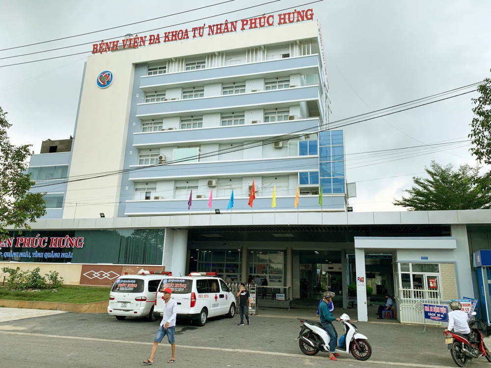 Bệnh viện đa khoa tư nhân Phúc Hưng - nơi sản phụ D. đến sinh mổ, sau đó lên cơn co giật và tử vong.