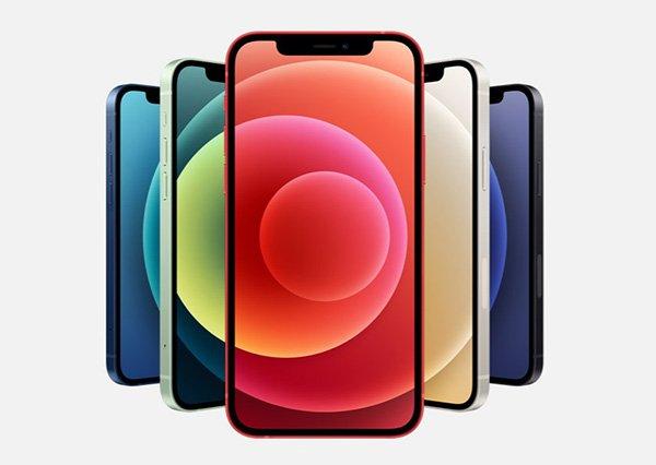 Các màu sắc của iPhone 12
