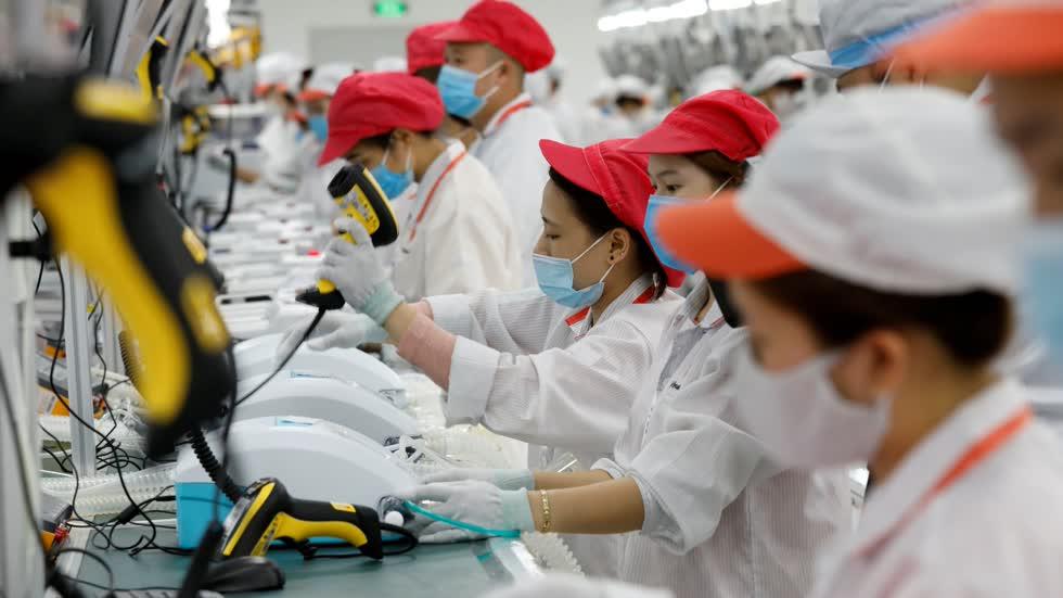 Nhật Bản hy vọng các nhà sản xuất tăng thêm công suất ở Đông Nam Á mà không rút hẳn khỏi Trung Quốc. Ảnh: Reuters