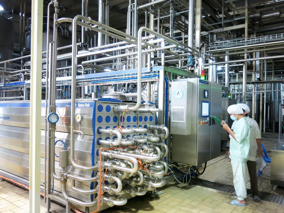 NutiFood đã nâng cấp nhà máy sản xuất theo công nghệ hiện đại, đáp ứng hàng loạt tiêu chuẩn khắt khe của thị trường. Ảnh: A.Tuyết