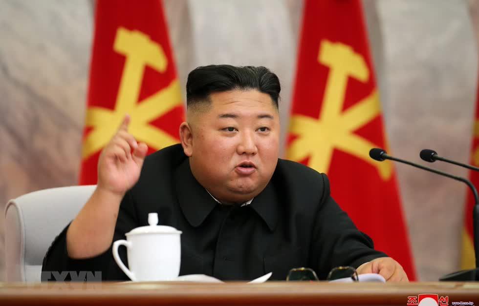 Nhà lãnh đạo Triều Tiên Kim Jong-un. Ảnh: Yonhap/TTXVN.