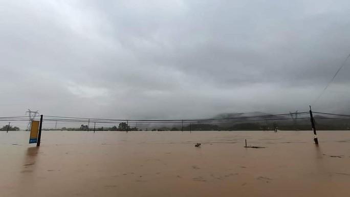 Ngập sâu diễn ra tại nhiều vùng thuộc xã Đại Lãnh,huyện Đại Lộc, tỉnh Quảng Nam.