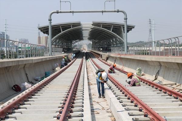 Lễ đón tàu metro sẽ diễn ra vào ngày 10/10 tới.