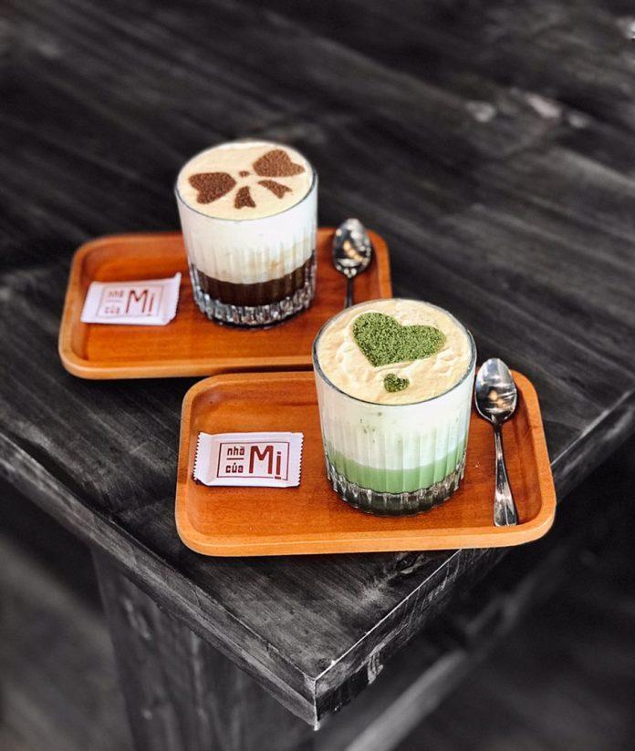 Cà phê trứng và cà phê đặc sản là những món được yêu thích tại Nhà Của Mị. Nguồn: Facebook Cà phê Nhà Của Mị