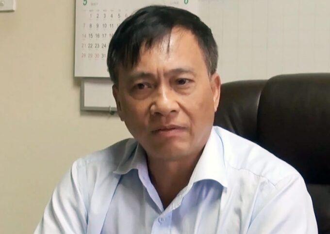 Ông Trần Quốc Tuấn, nguyên Giám đốc ngân hàng nhà nước chi nhánh Đồng Nai, khi còn đương chức năm 2017. Ảnh:Thái Hà/VnExpress