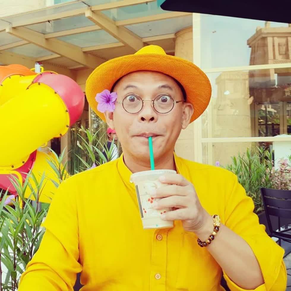 ÔngBửu Điền (Color Man) là người sáng lập Điền Quân Media & Entertainment. Ảnh: Internet