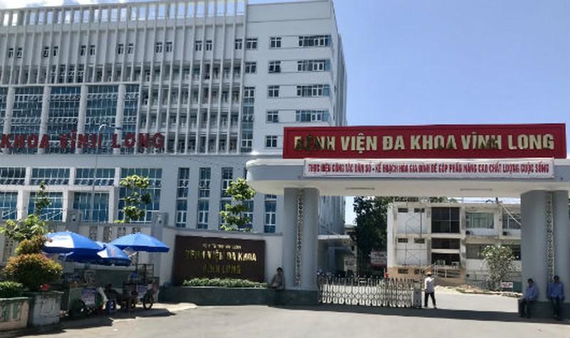Bệnh viện Đa Khoa tỉnh Vĩnh Long.