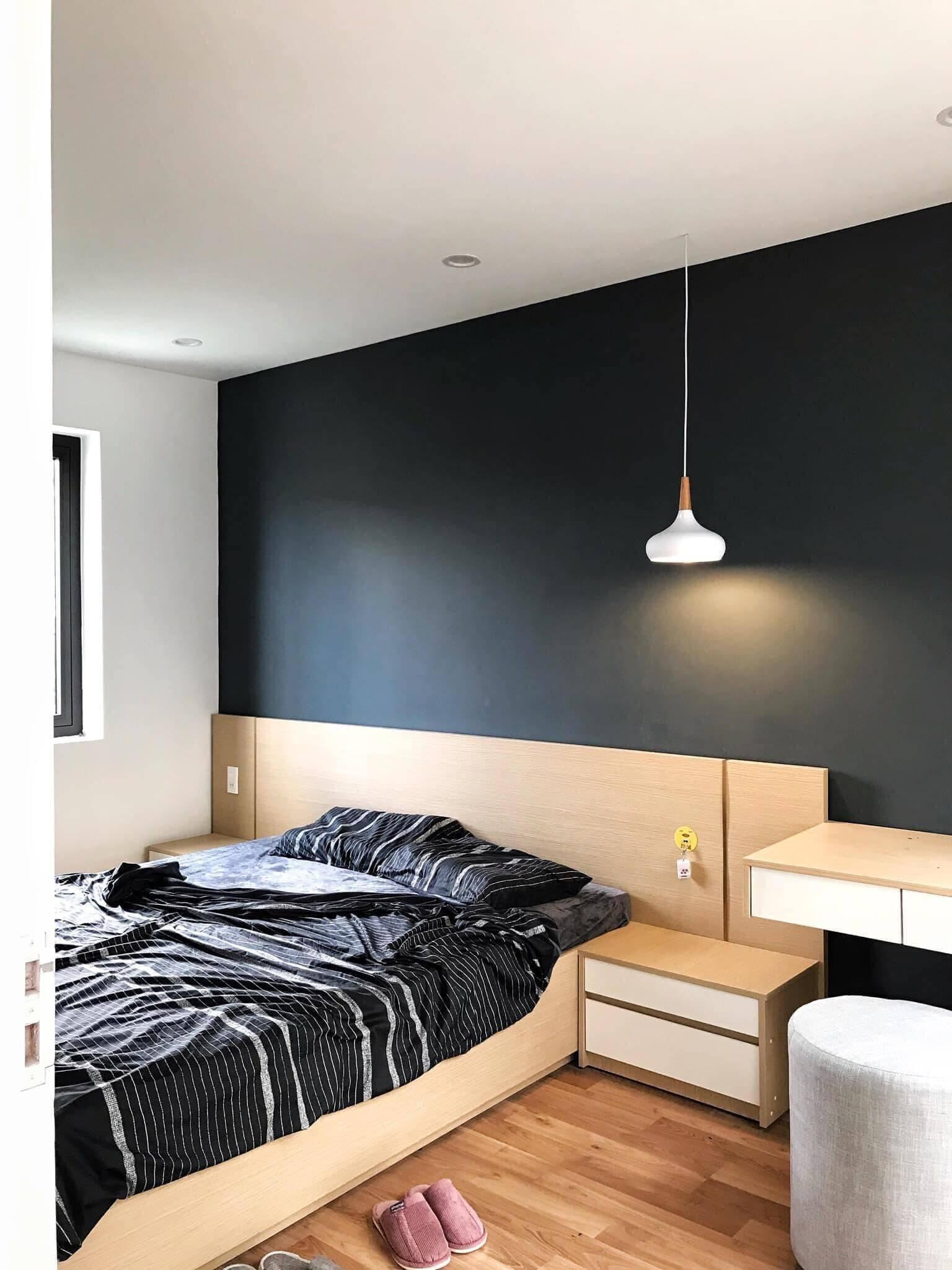 Các phòng ngủ đều được thiết kế theo phong cách hiện đại với gam màu trung tính.