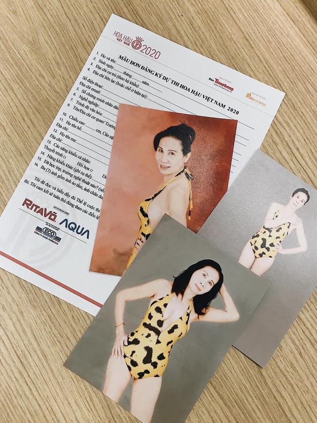 Hoa hậu Việt Nam 2020, thí sinh U60 tự tin đăng ký