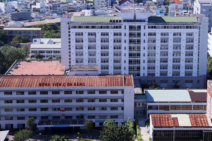 Bệnh viện C Đà Nẵng, nơi bệnh nhân nghi nhiễm COVID-19 đến khám. Ảnh: Khoa học và đời sống