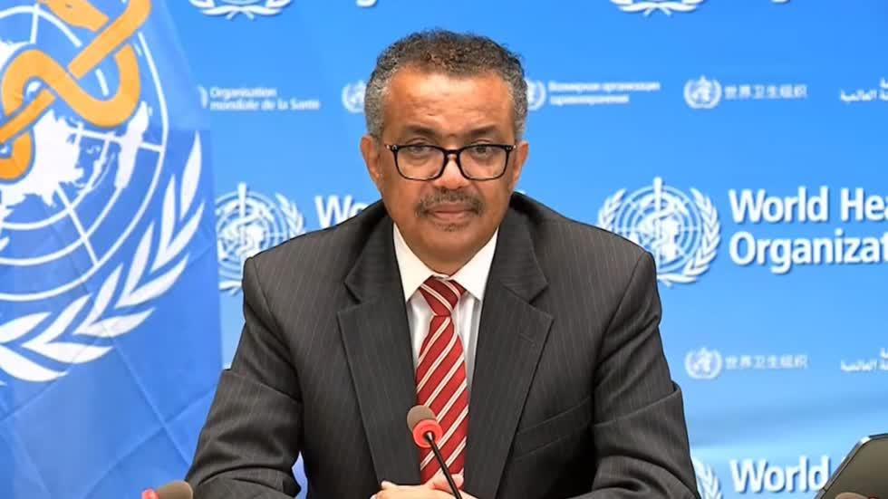 Tổng Giám đốc WHO Tedros Adhanom Ghebreyesus. Ảnh: WHO