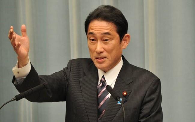 Cựu Ngoại trưởng Fumio Kishida. Ảnh: Japan Times