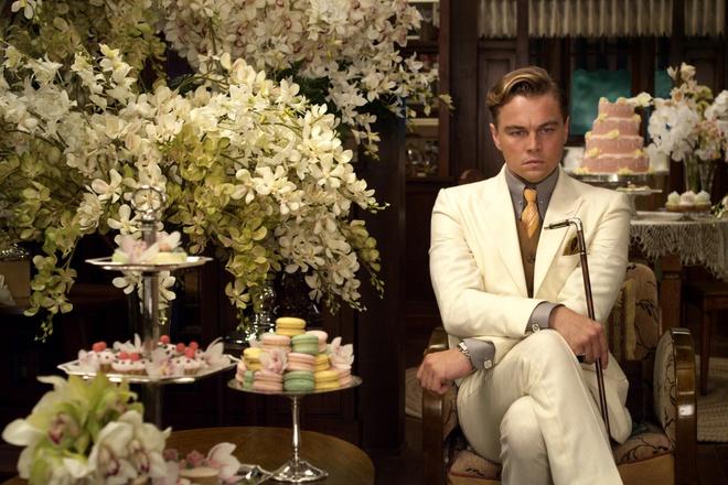Leonardo DiCaprio trong bản phim chuyển thể năm 2013 từ Đại gia Gatsby.Ảnh: WARNER BROS