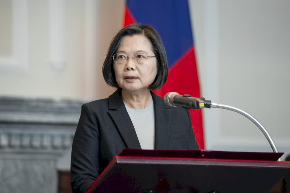 Nhà lãnh đạo Đài Loan Thái Anh Văn. Ảnh: RTI