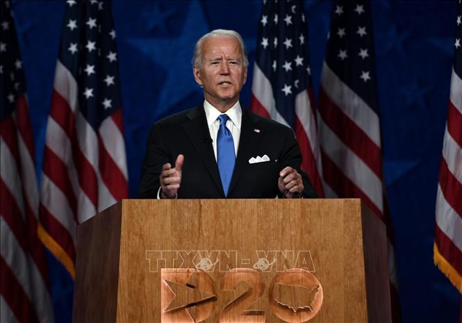 Cựu Phó Tổng thống  Joe Biden . Ảnh: AFP/TTXVN