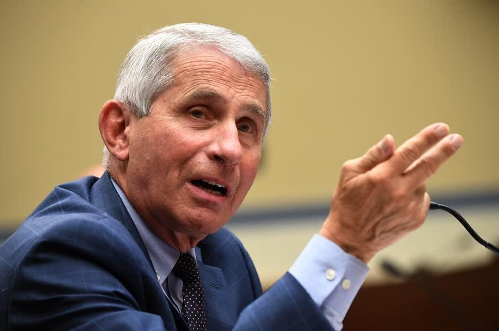 Tiến sĩ Anthony Fauci, giám đốc Viện Dị ứng và Bệnh Truyền nhiễm Quốc gia Mỹ (NIAID).Ảnh: Reuters.