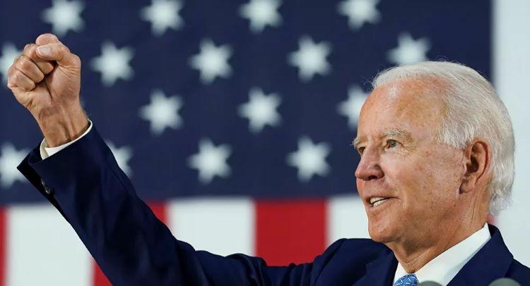 Ông Joe Biden chính thức được đề cử làm ứng viên tổng thống của đảng Dân chủ. Ảnh: Reuters