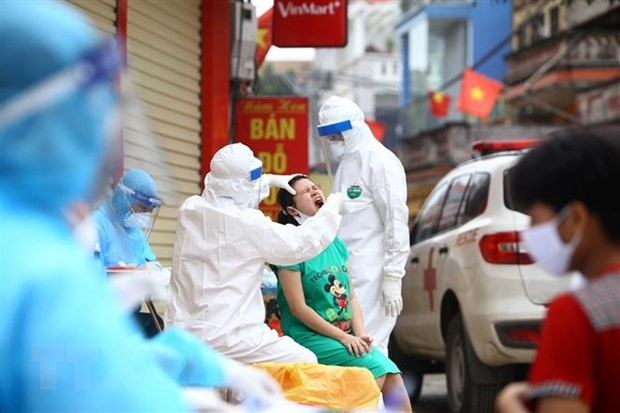Sáng nay, Việt Nam không ghi nhận thêm ca nhiễm mới. Ảnh minh họa.