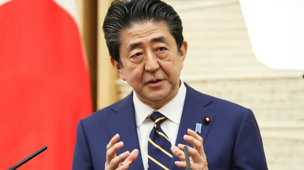 Thủ tướng Nhật Bản Abe Shinzo.Ảnh: Nikkei