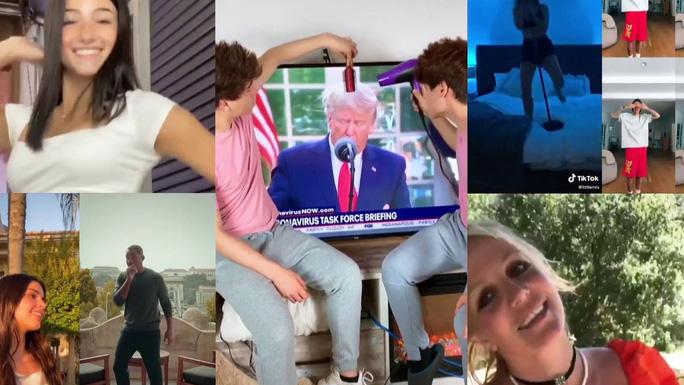 Thung lũngSilicon nghi ông Trump cấm TikTok vì dám phê duyệt các video chế giễu mình. Ảnh: CNBC