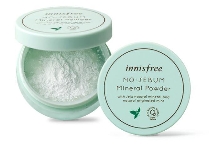 Innisfree No Sebum Mineral Powder.