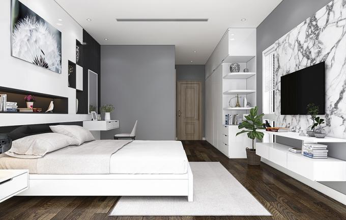 Đá cẩm thạch, sắc thái mới trong trang trí nội thất