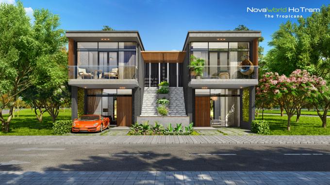 Thiết kế 2 tầng với lối đi riêng biệt đáp ứng xu hướng sống hiện đại và là giải pháp kinh doanh hiệu quả.
