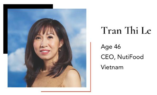 Bà Trần Thị Lệ, CEO NutiFood (Ảnh: DDDN)