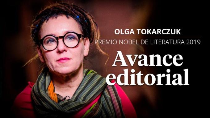 Nữ văn sĩ Ba Lan đoạt giải Nobel 2018 vừa được công bố vào mùa Nobel 2019. Ảnh Spain'new