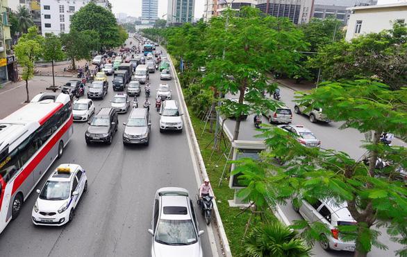Hà Nội đặt mục tiêu đạt tỉ lệ 8m2 cây xanh/người vào năm 2030 - Ảnh: T.Đ.H