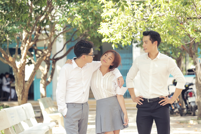 Văn Mai Hương và Bùi Anh Tuấn trong MV