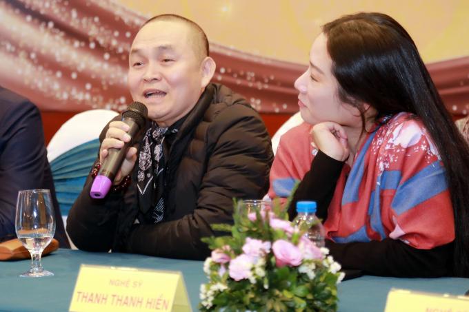 Nghệ sỹ Xuân Hinh và Thanh Thanh Hiền