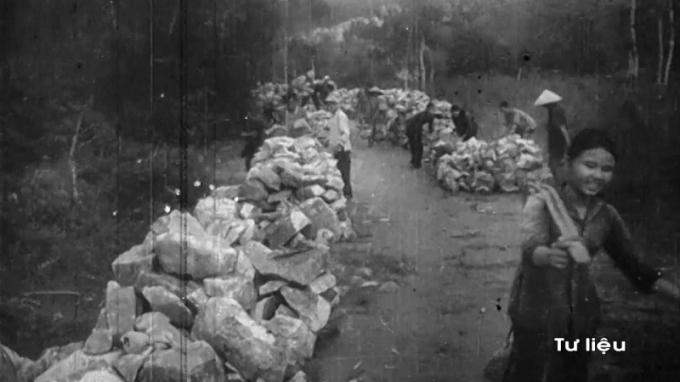 Những hình ảnh còn lưu giữ của các chiến sỹđại đội 915. Ảnh tư liệu