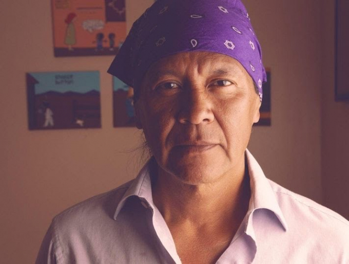 Ricardo là hoạ sĩ da đỏ duy nhất ở 1 tờ báo chính thống nước Mỹ.