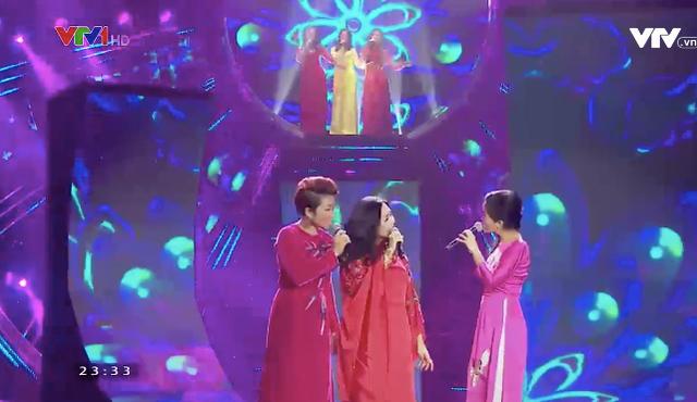3 diva Thanh Lam – Hồng Nhung – Hà Trần đứng chung trên sân khấu