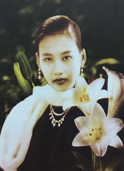 Bà Tùng Long thời trẻ