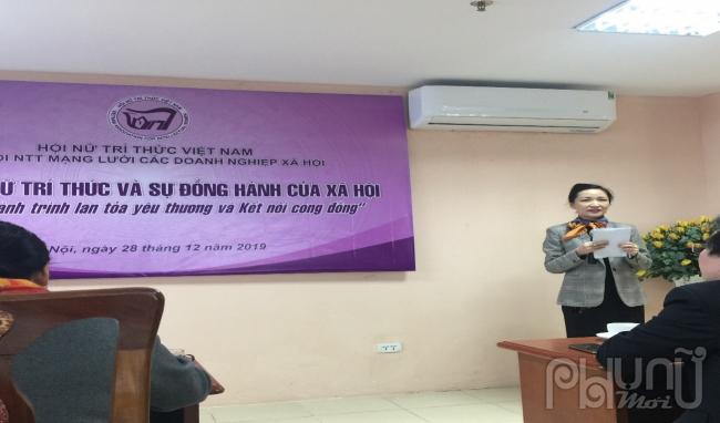 TS Phan Thùy Trâm, Ủy viên Ban Thường vụ Hội NTT Việt Nam, Chi hội trưởng