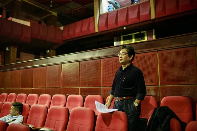 Ông Trương Nhuận -nguyên Giám đốc Nhà hát Tuổi trẻ.