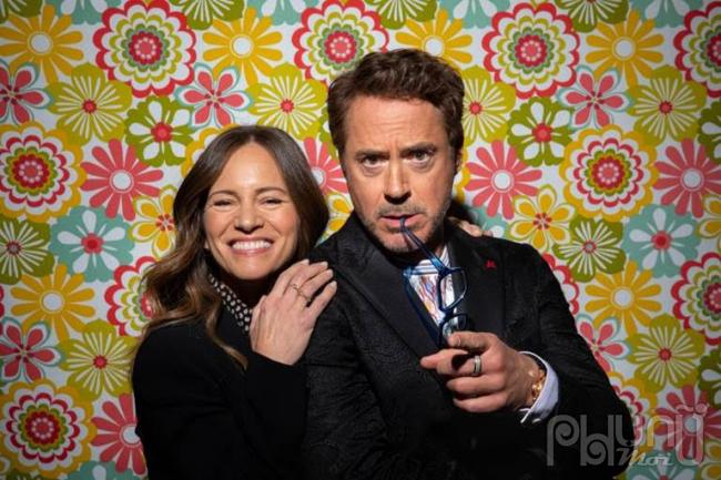 Vợ chồng Robert Downey Jr. sau hậu trường Bác sĩ Dolittle: Chuyến phiêu lưu thần thoại - bộ phim họ cùng chung tay sản xuất