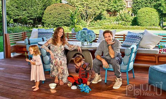 Gia đình nhỏ của Robert Downey Jr